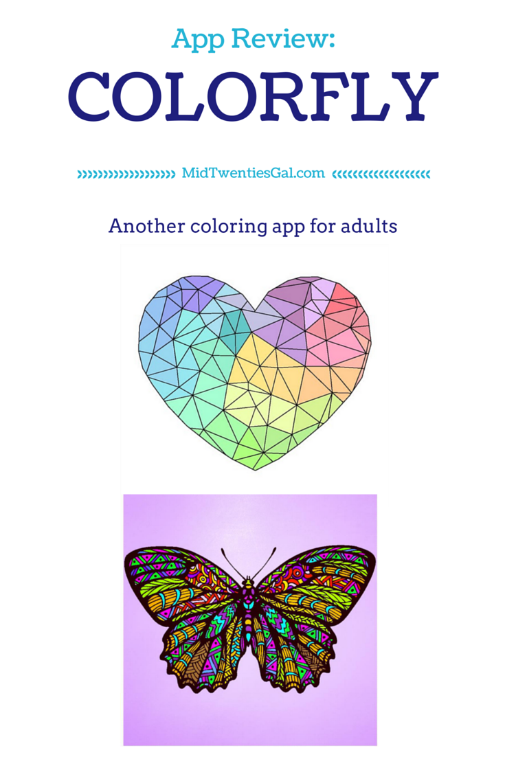 App Review: ColorFLY, (another) coloring app for adults ...